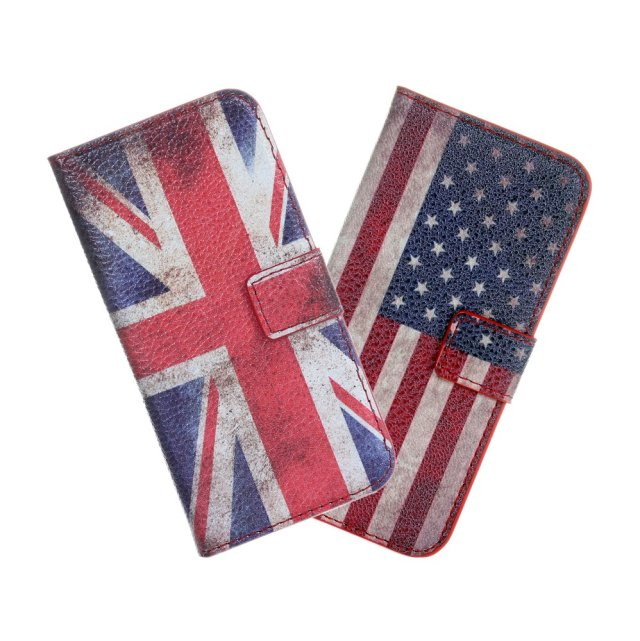 New Product Retro Hot Selling Wallet Case for iPhone 5 5s