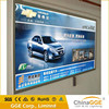 Use friendly advertising backlit fabric LED slim light box / wall hanging light board