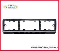 Russian and EU zinc alloy car license plate frame