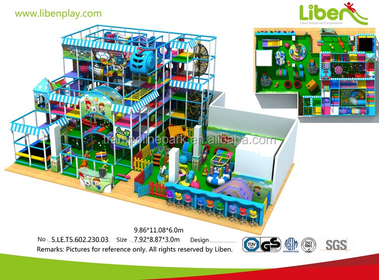 China suppliers quality-assured modular indoor playground