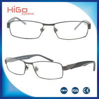 2016 trending products stainless steel optical frame eyewear italian brandy