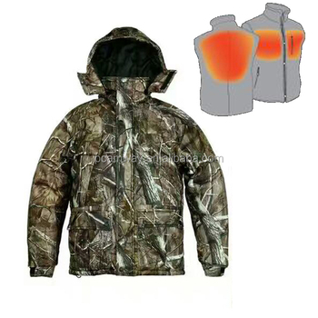 Electric huntingClothing Heating Pad / 12V Electric Heated hunting Jacket