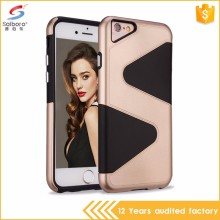 Flexible price anti-scratch s shaped tpu pc for iphone5 back cover
