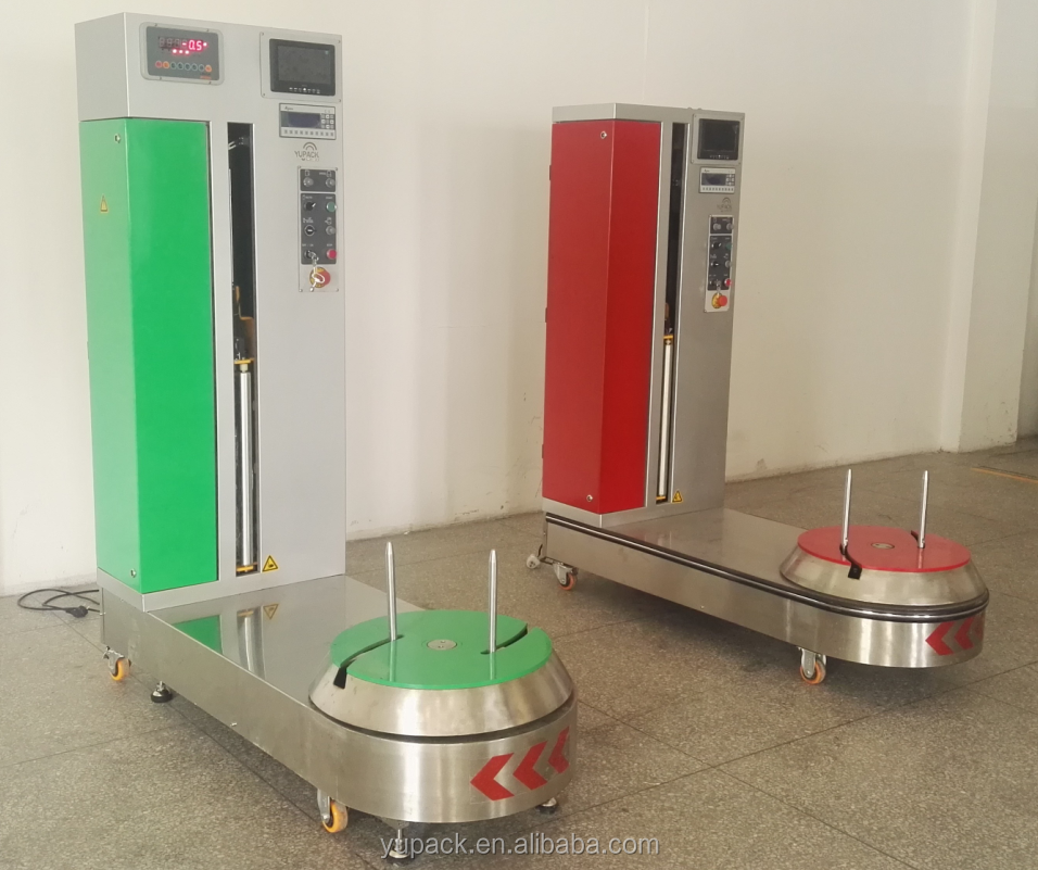 LP600F-L fully automatic airport luggage wrapping machine for sale