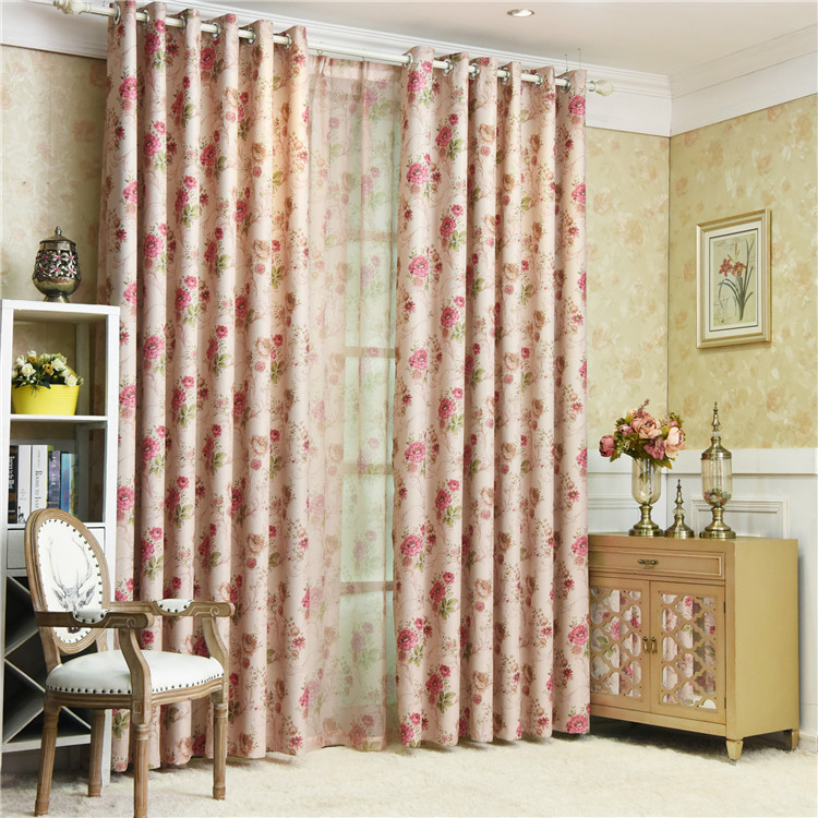 BUMANTIANXIA brand luxury Colors shades may slightly vary Turkish curtain blackout fabric curtain and beautiful curtain rod