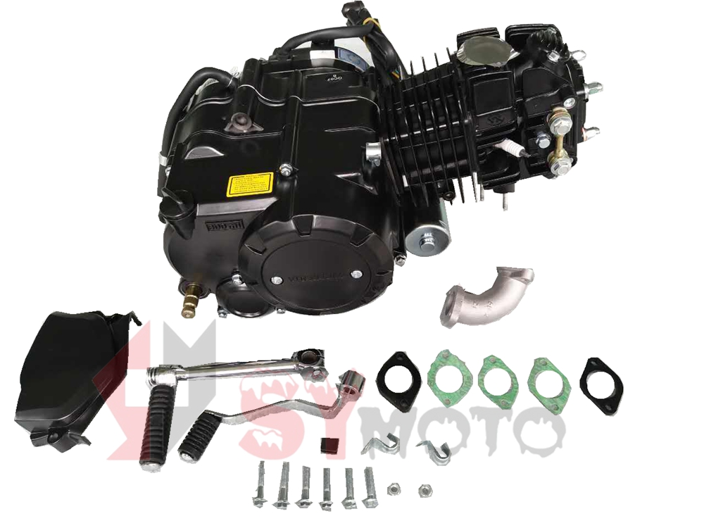 yx 140cc semi auto electric start engines
