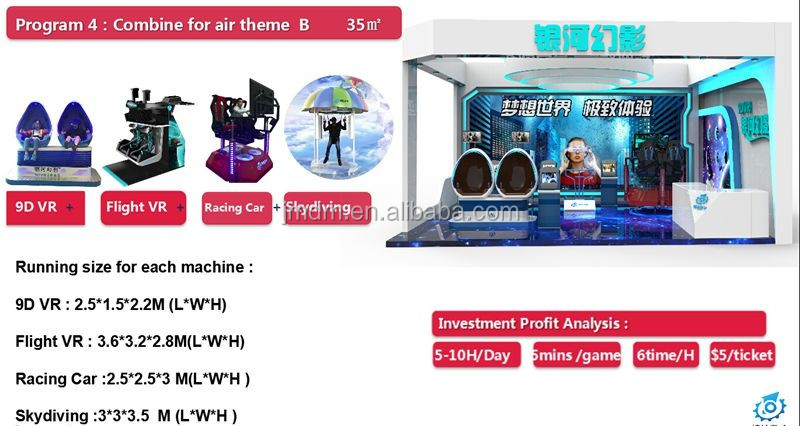2019 copyright VR movies CE certificate 6seats vr mini cinema 9d Virtual reality roller coaster cinema simulator with 9d vr