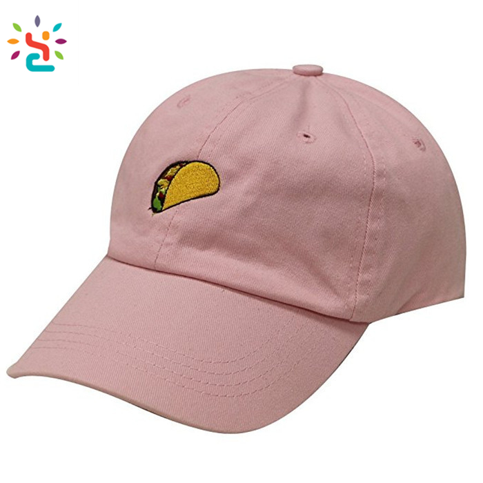 Promotional custom logo baseball hat 100% cotton twill dad hat embrodery baseball cap sun visor hat for women