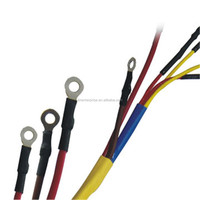 Low Voltage Application and crosslinking polyolefin Material heat shrink protection sleeve