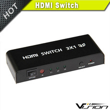 3 PORT HDMI Switcher Splitter Switch for HDTV 1080P High Speed HDMI Specification