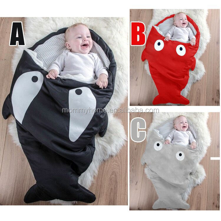 shark baby sleeping bag soft cotton infant sleeping bag M6082204