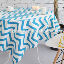 Cheap Square Overlay Party Cotton Table Cloth