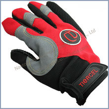 high quality breathable&anti-skid full finger cycling gloves