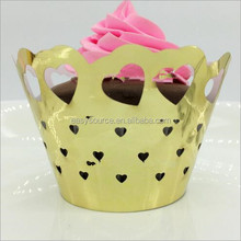Laser Cut Birthday Party cupcaker wrapper for birthday party decoration laser cut paper butterfly design
