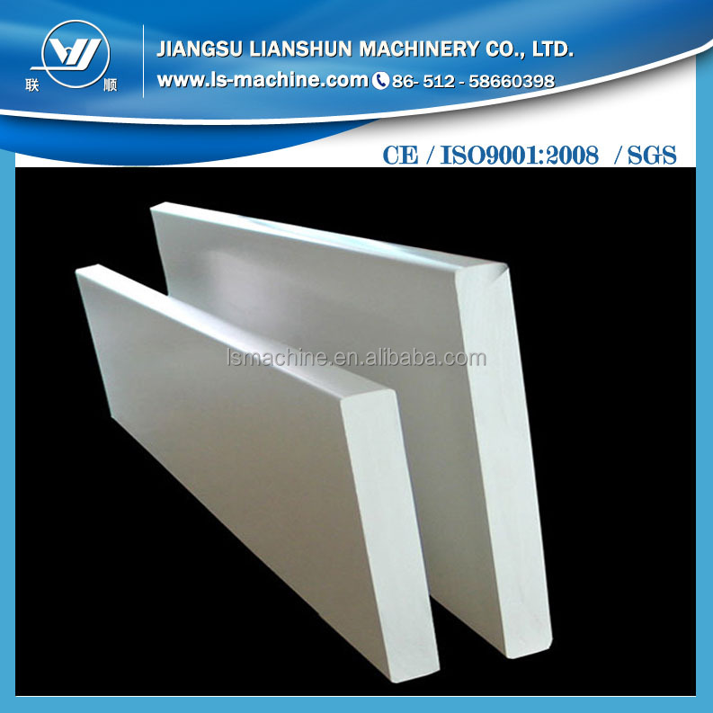 Sales well Wood plastic composite construction panel extrusion <strong>line</strong>