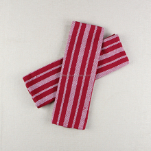 China Supplier Red Striped Towel Yarn Dyed Plain Kitchen Towel for Cleaning