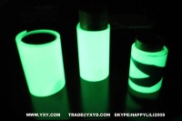 glow in the dark photoluminescent vinly film tape