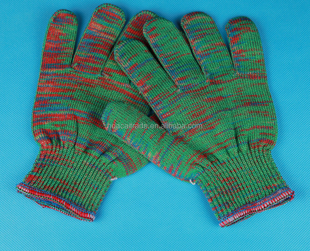 Huacai factory from China, multi-colored cotton glove Work cotton gloves for sales associate in fine jewellery stores