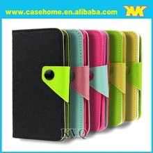 Wallet leather case for samsung galaxy s4 active, for samsung case