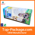 Folding Luxury Clear Hard Plastic box Cosmetic Plastic Packaging Boxes