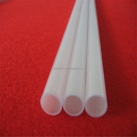 Hot selliing small diameter milky white quartz glass tube for heater