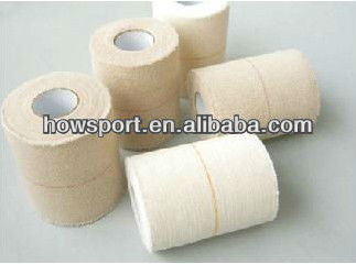 ( S )human/ horse wrapping cotton fabric heavy weight Elastic Adhesive Bandage 5cm*5m latex free ISO/CE manufacturer