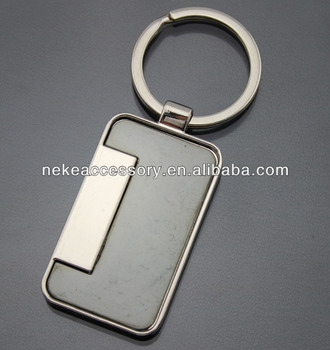 new arrival promotional blank Metal Key chain