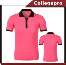 cheap latest design ladies jersey golf polo collar t shirt plain