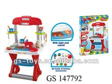 2012 Hot Sale Plastic BBQ With Light and Sound