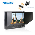 7 inch monitor with wireless hdmi transmitter long range