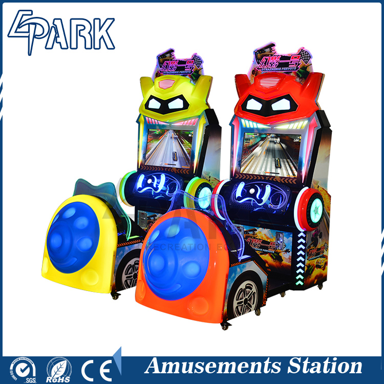 EPARK Factory direct wholesale popular 2 player car racing electronic game machine