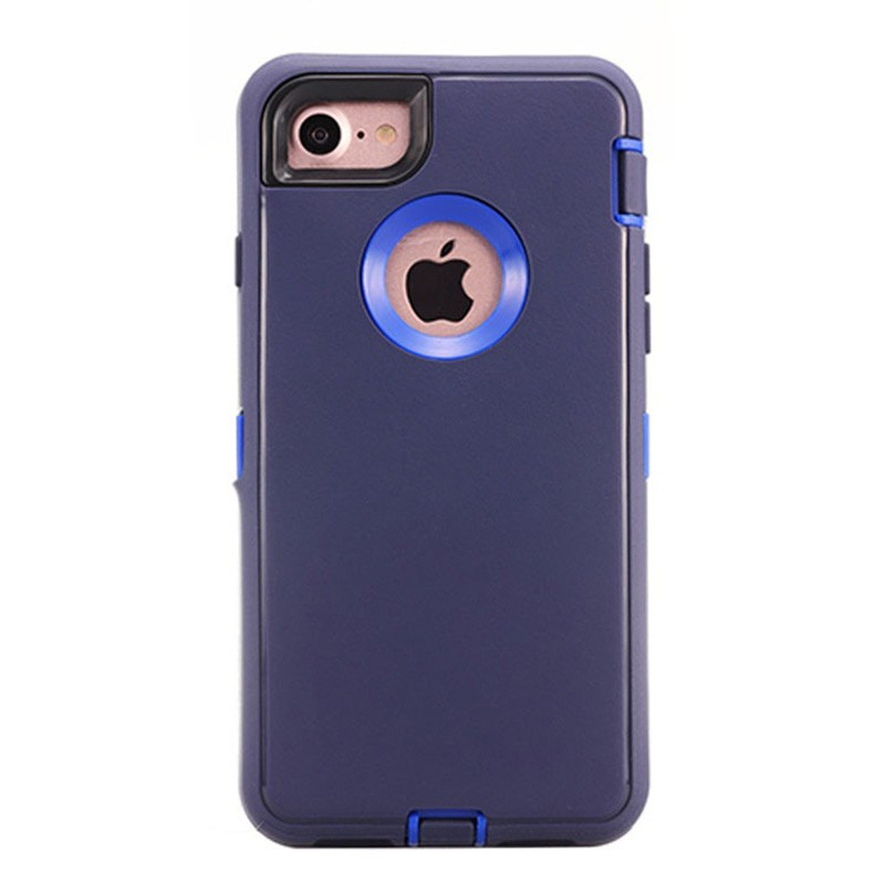 Wholesale cheap price dual layer Slim armor cover case for iPhone 7 Plus with card slot