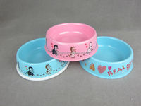 Melamine pet bowl for dogs and cats