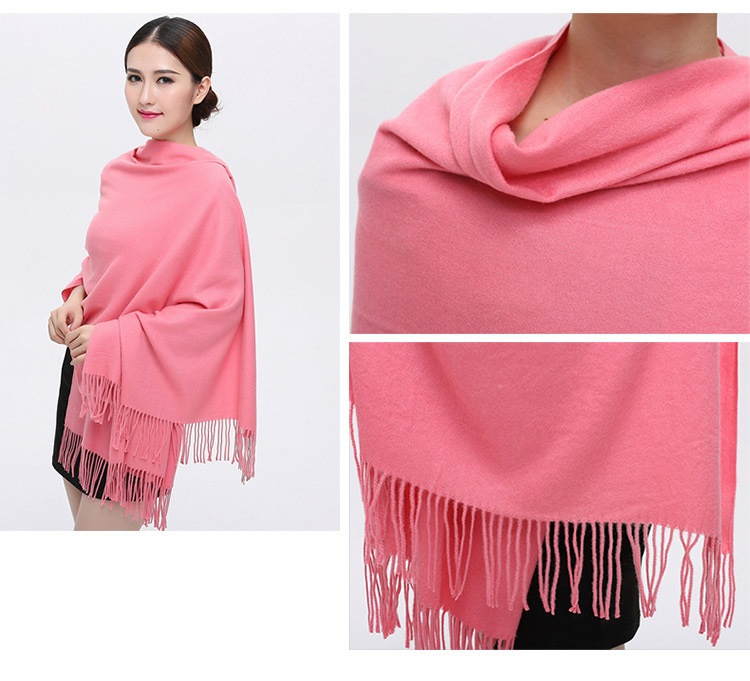 200cm x 70cm 100% cashmere scarf 30 colors wool cashmere scarves big size shawl warm for womens