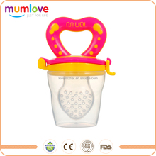 In Stock Silicone baby fruit nipple fresh food safe feeder