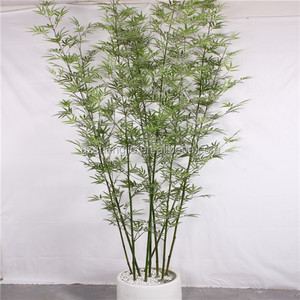 SJZZY Made in china artificial potted bamboo , plastic bamboo plants
