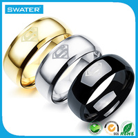 Alibaba Express Wholesale Superman Wedding Ring