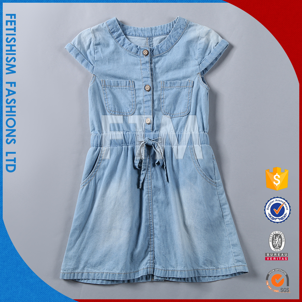 Hot sale Popular casual fashion design small kids girls dress
