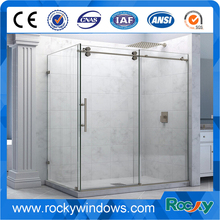 8mm Luxus Frameless Glass Hinged shower door
