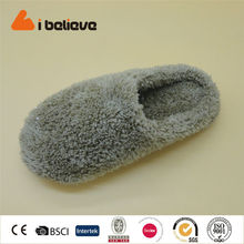 Jiaing China shoes factory warm indoor women slipper spot shoes