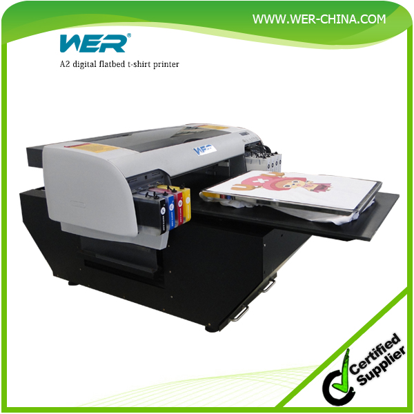 New design wer d4880t a2 desktop digital t shirt printing for T shirt printing machine suppliers