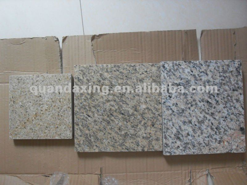 Yellow Granite Floor Tile Tiger Skin Yellow