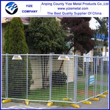 Alibaba China gold supplier children playground fence/temporary fence/galvanized steel deer fence
