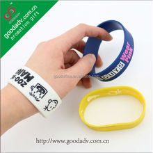 2014 Hot sell silicone bracelets promotion gifts cheap custom silicone wristbands