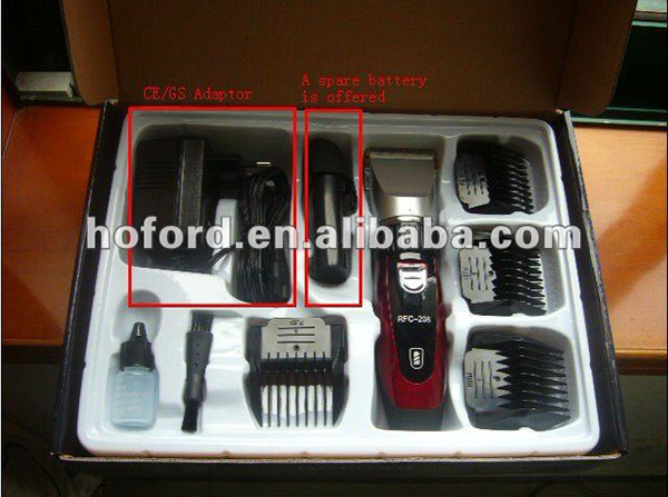 RFC-208 OEM AVAILABLE RECHARGEABLE HAIR CLIPPER AND TRIMMER