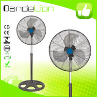 2016 Hot sale big power 18 inch electric heavy duty industrial stand fan