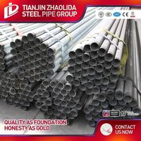 perforated pipe for drainage threaded pipe galvanized steel