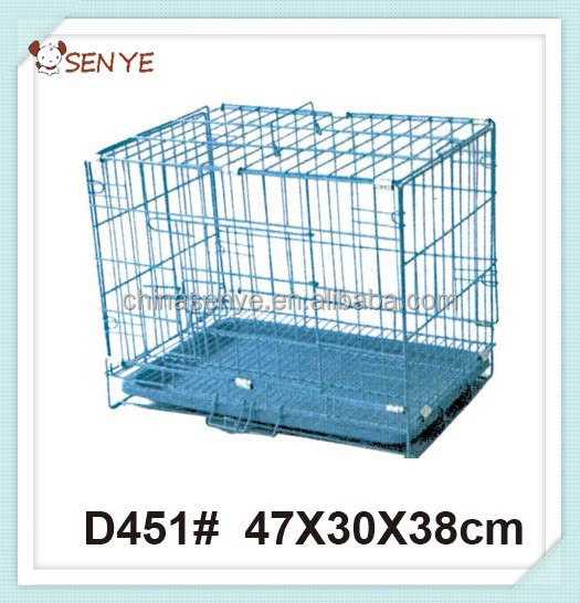 Wire Folding Pet Crate Dog Cage Iron Dog Cage Cheap Dog Crate