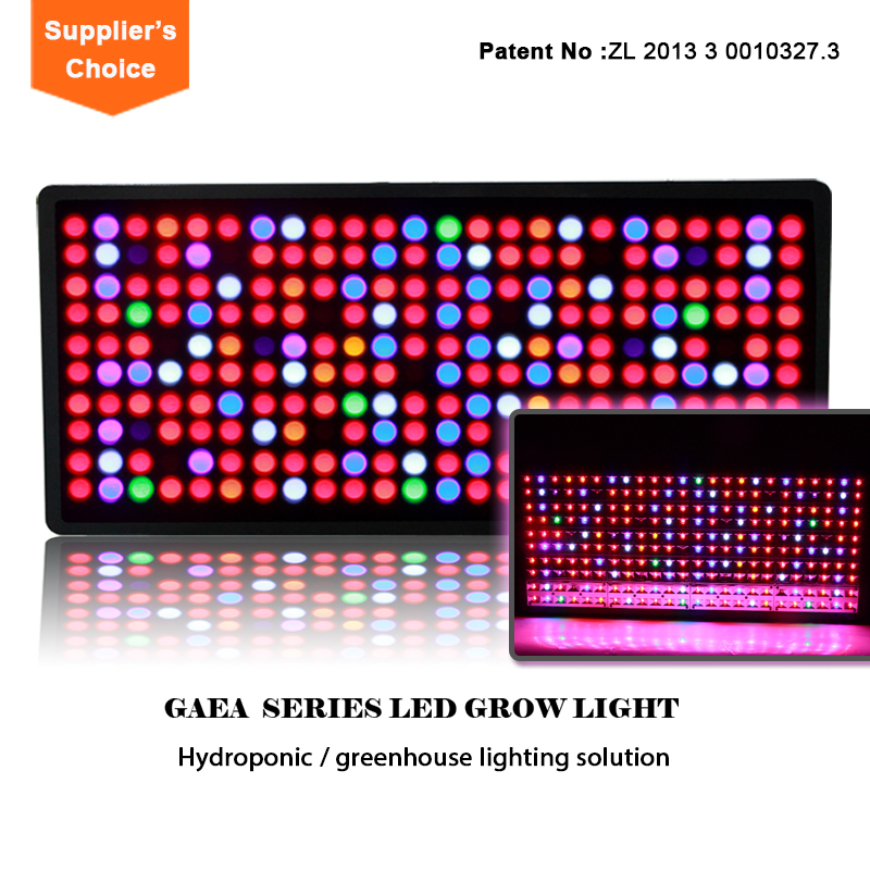 Low power consumption hydroponic nutrient led grow light