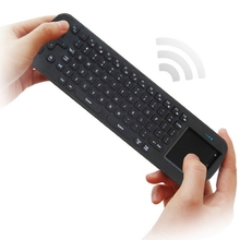 2.4G USB Wireless Keyboard Touchpad Air Fly Mouse for Mini PC